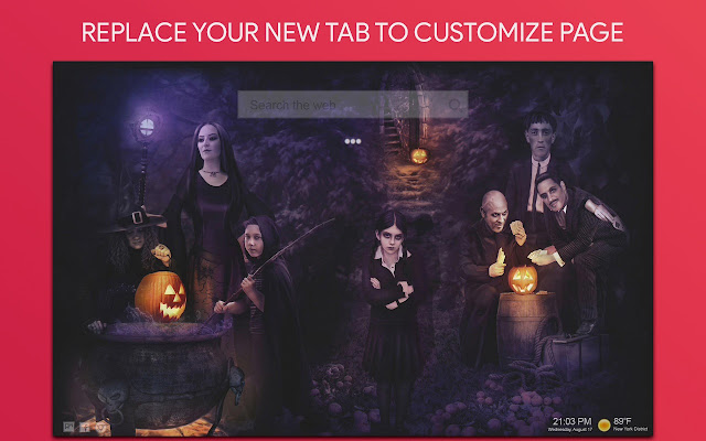 Halloween Wallpaper HD Custom New Tab