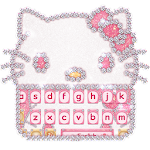 Pink kitty Keyboard