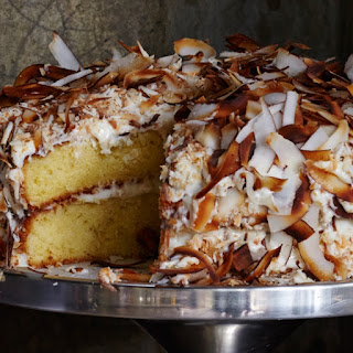 Toasted-Coconut Cake