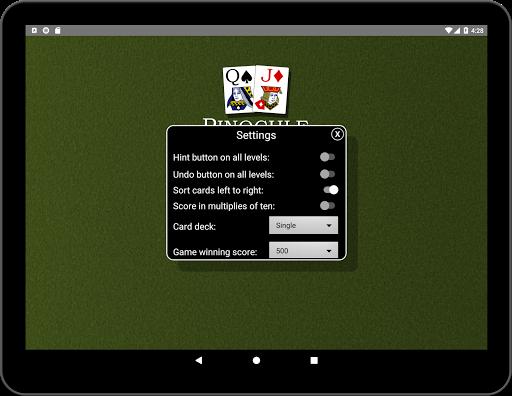 Pinochle Classic 1.9 screenshots 16