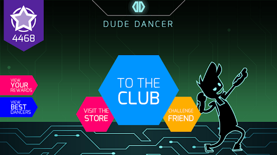 Dude Dancer: Rhythm Game with Dubstep & NewWave- screenshot thumbnail