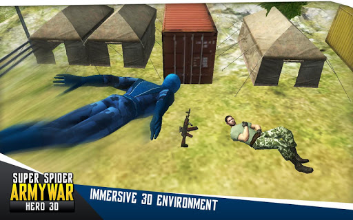 Super Spider Army War Hero 3D for PC