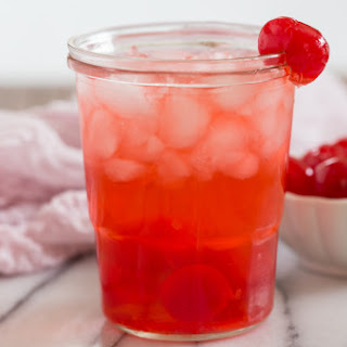 Dirty Shirley Temple cocktail.
