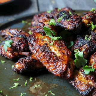 Grilled Chile Lime Chicken Wings Recipe