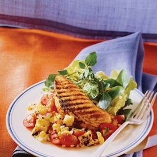 Weight Watchers Grilled Chicken Breasts with Tomato-Corn Salsa