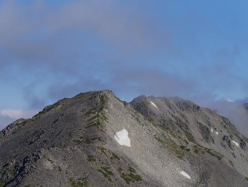 中岳と大喰岳