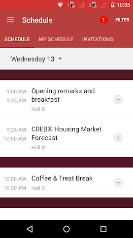 android CREB® 2016 Forecast Conference Screenshot 3