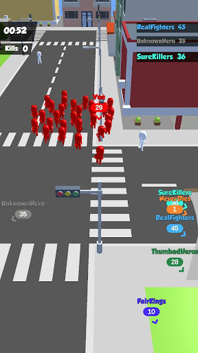 Crowd Race 3D : Biggest in the city! android2mod screenshots 3
