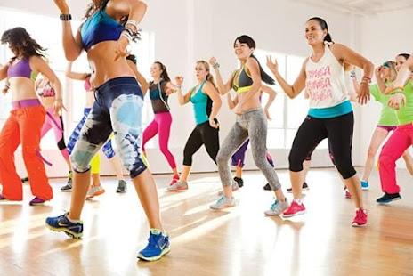 Zumba dance training for weight loss