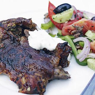 Spit-Roasted Whole Greek Lamb.