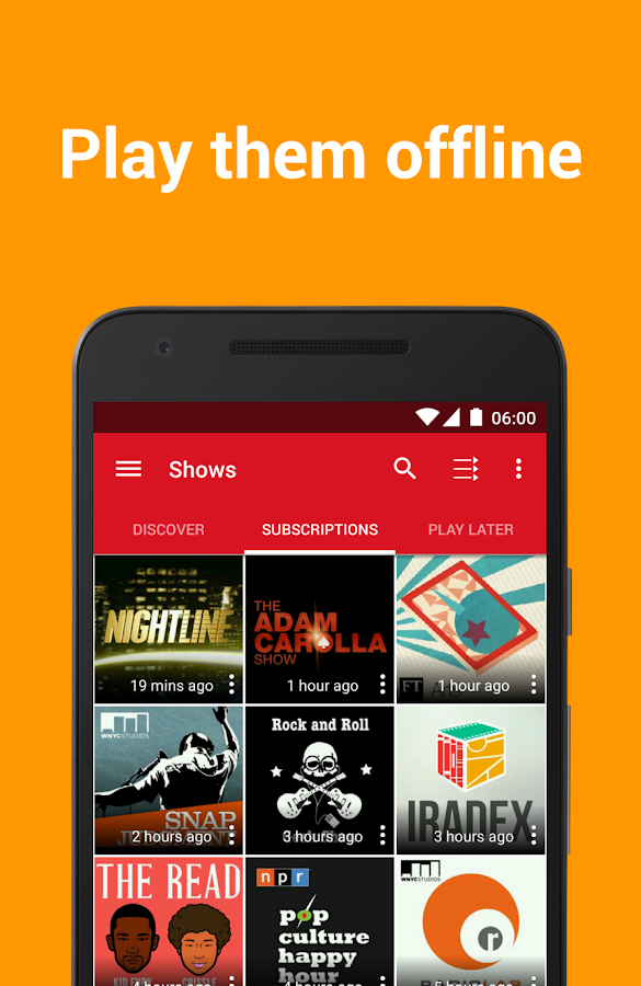 Podcast Player - Free - Android-apps op Google Play