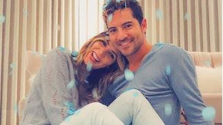 Bisbal ha anunciado que Rosanna Zanetti y él esperan un niño.