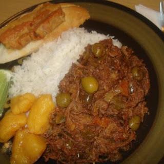 "Authentic Cuban Shredded Beef, ""Ropa Vieja"" Cubana"