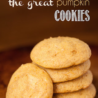 The Great Pumpkin Cookies