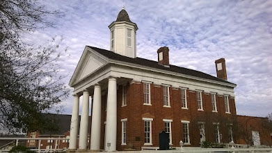 Photo: Nacogdoches Old University building 1850s