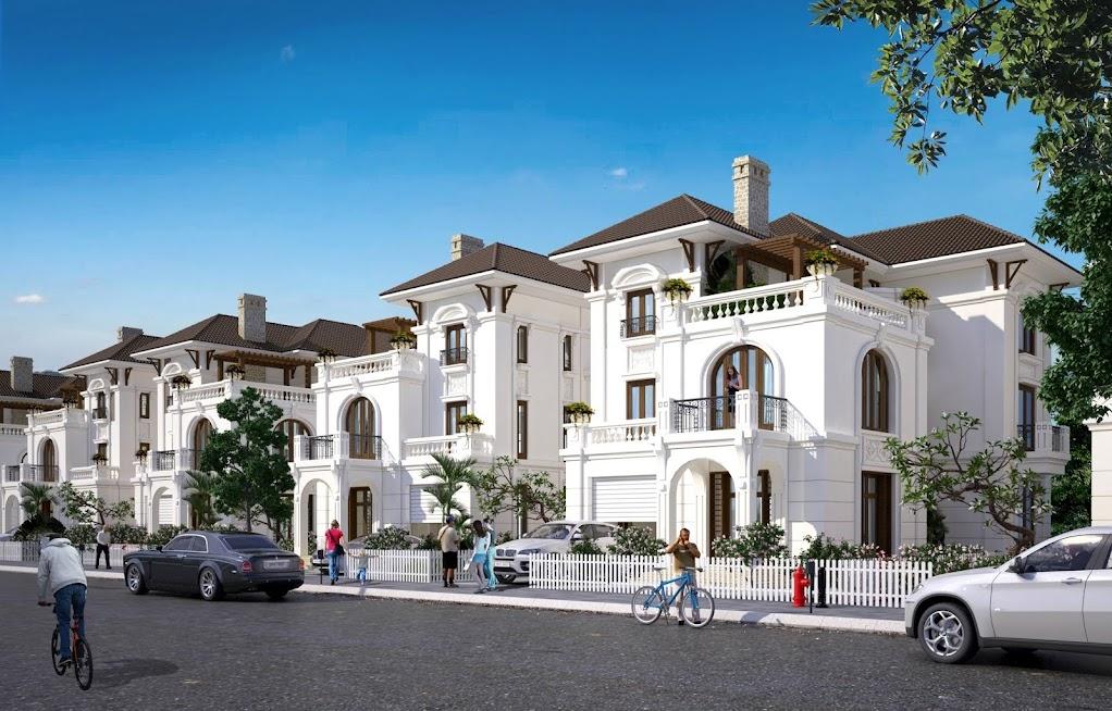 Cửa cuốn Eurowindow không chỉ có chức năng bảo vệ kiên cố mà còn mang tới vẻ đẹp thẩm mỹ và giá trị cho các căn biệt thự cao cấp Embassy Garden (KĐT Starlake Tây Hồ Tây)