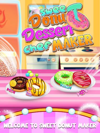 Sweet Donut Dessert Chef Maker Screenshot