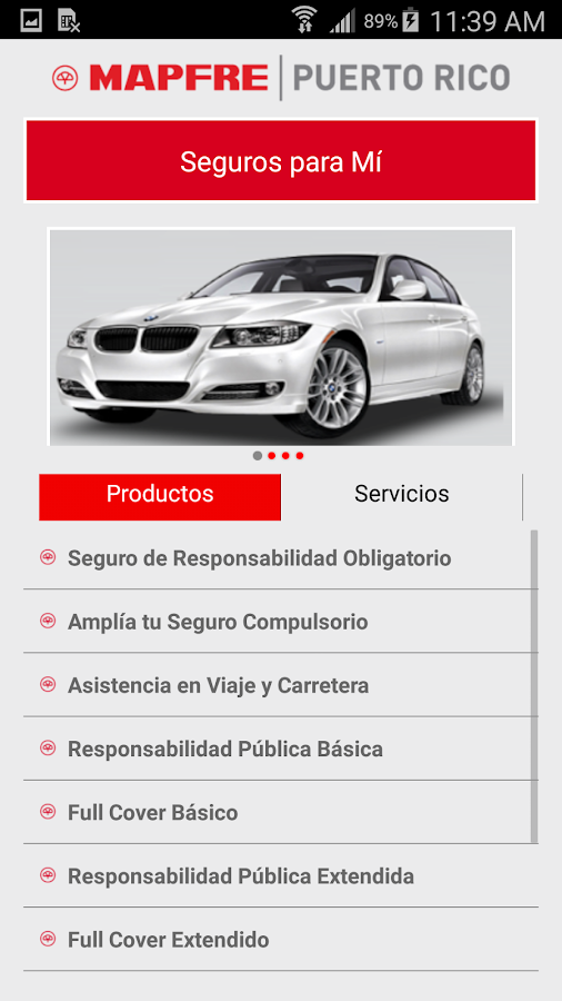 Mis Seguros- screenshot