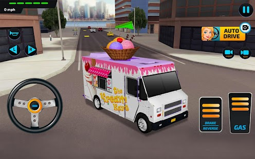 Food Truck Rush Drive & Serve- screenshot thumbnail
