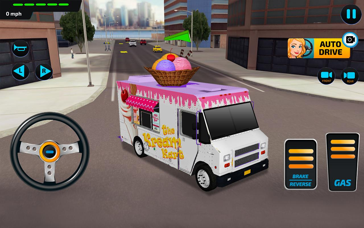 Food Truck Rush Drive & Serve- screenshot