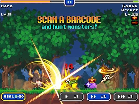 Barcode Knight v1.1 [Mod Money]