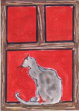 Photo: Cat In A Window 1
