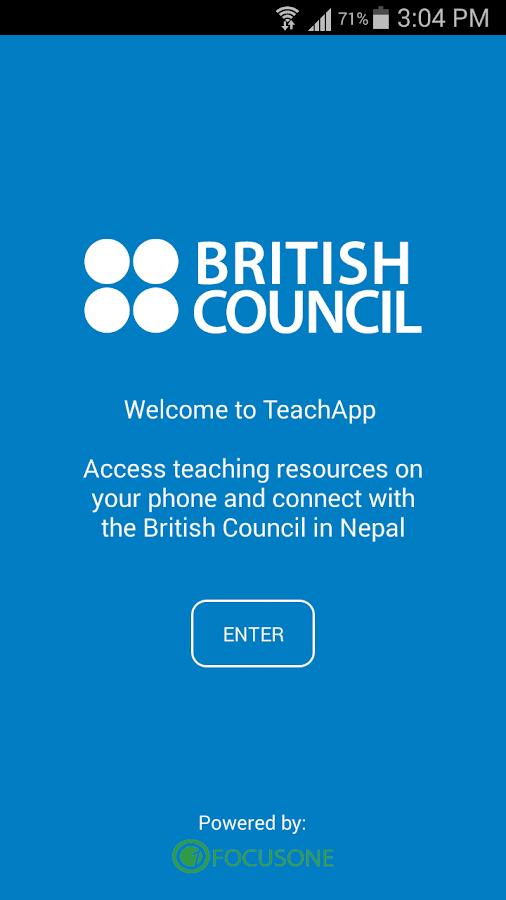 TeachApp- screenshot