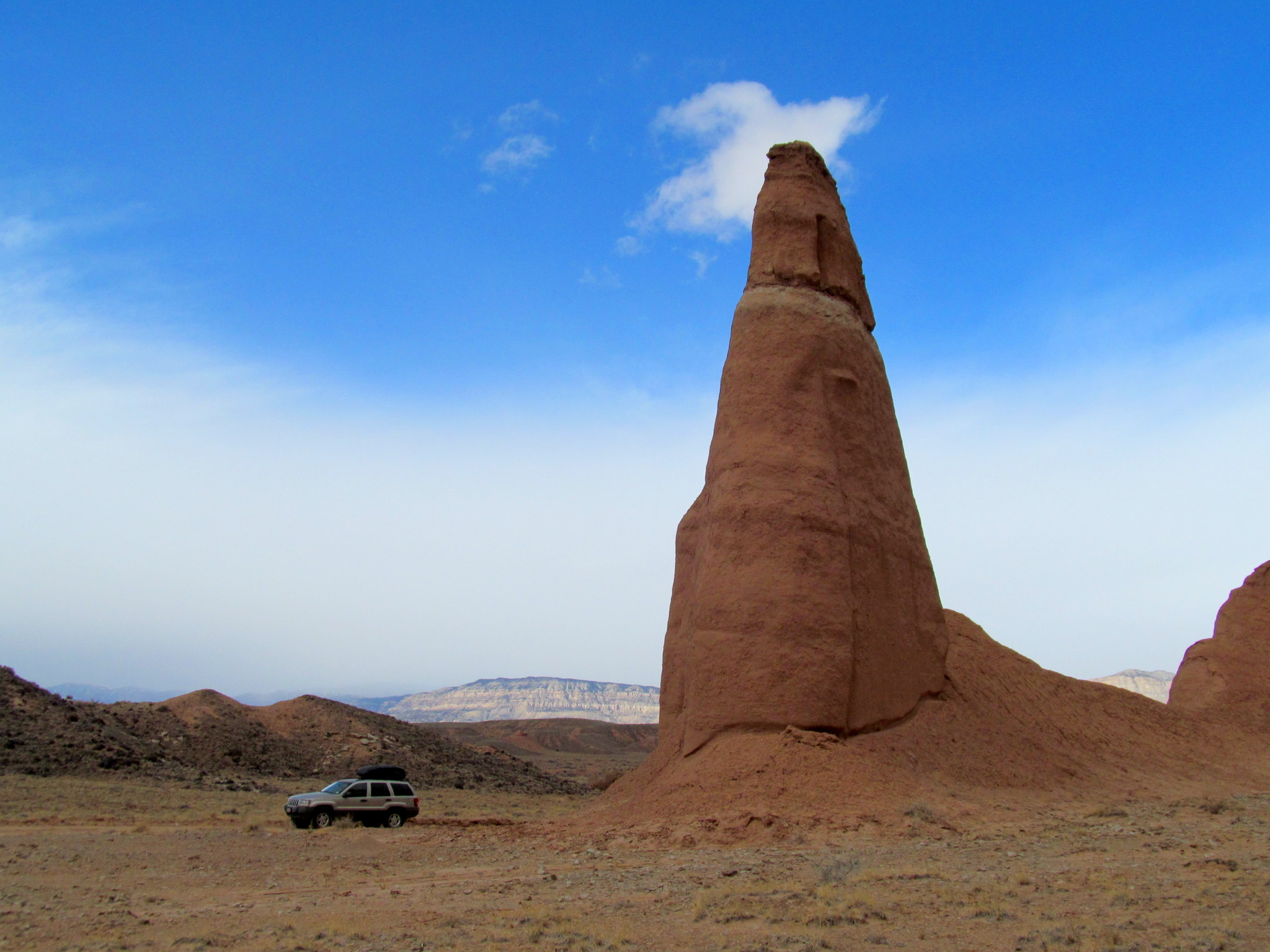 Photo: Entrada Sandstone Spire near Last Chance Wash