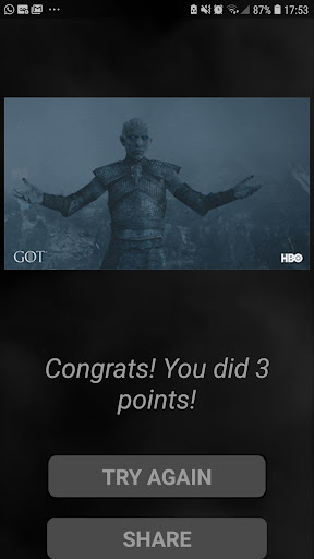 The Best Game of Thrones Quiz - screenshot