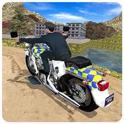 Police Motorbike : Rider Crime Patrol Robber Chase