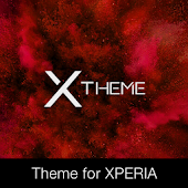 xBlack - Red Premium Theme for Xperia