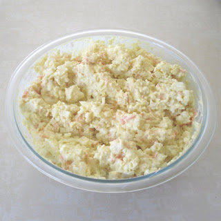 A Healthy Cauliflower Potato Salad