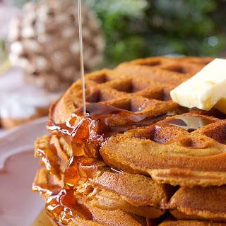 Gingerbread Waffles.
