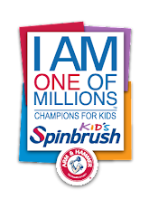 Photo: Spin Into Action for children's oral care @Champions4Kids SIMPLE Service Project #SpinbrushCFK