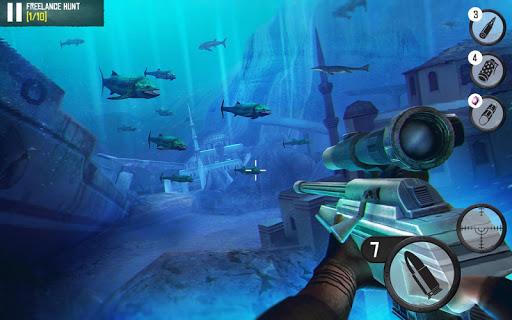 Best Sniper: Shooting Hunter  captures d'u00e9cran 1