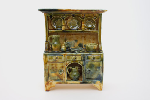 Ian Gregory Ceramic Sculpture 'Welsh Dresser'