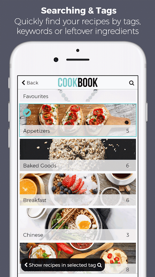 CookBook - the recipe keeper- screenshot