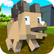Blocky Farm Sheep Simulator