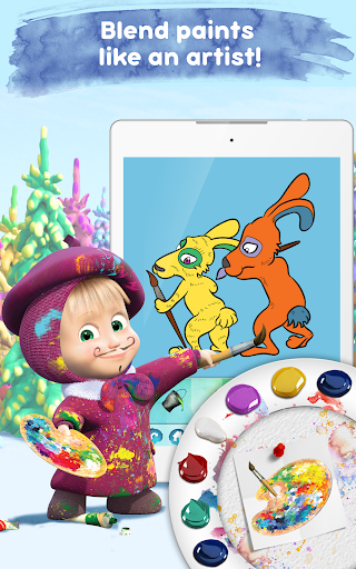 Masha and the Bear: Free Coloring Pages for Kids 1.0.3 screenshots 10