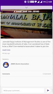 JBIMS Alumni - náhled