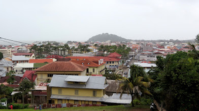 Photo: Cayenne - view from Fort Cépérou