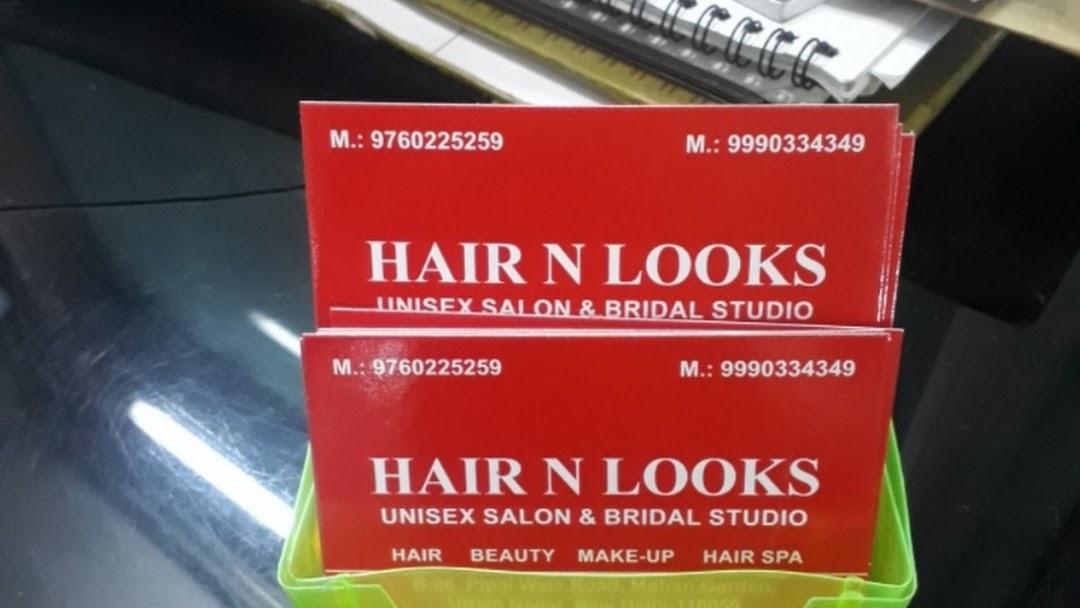 Hair N Looks Unisex Salon & Bridal Studio - Hairdresser in Delhi