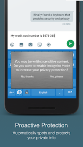 McAfee Safe Keyboard │ Privacy screenshot 1