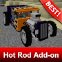 Hot Rod Cars Addon for Minecraft MCPE APK icon