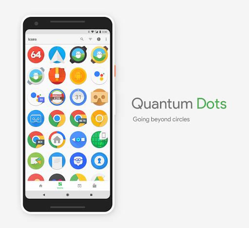 Quantum Dots - Icon Pack  screenshots 4