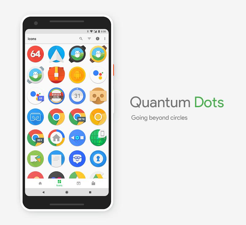 Quantum Dots - Icon Pack Screenshot 3