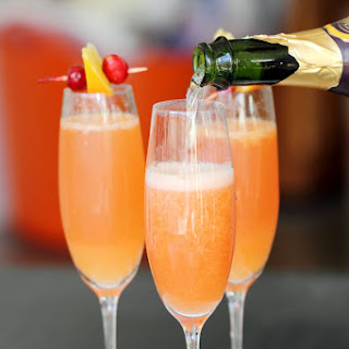 Cranberry Orange Mimosas Recipe