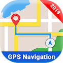 Offline Maps: Drive & Navigate with free GPS App icon
