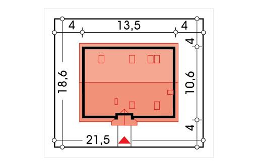 Azalia II wersja A bez garażu - Sytuacja