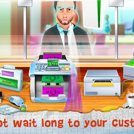 Bank Manager & Cashier v1.2 [Mod Money]